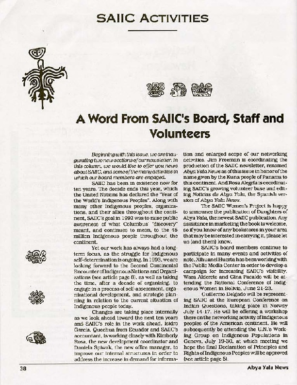 A Word Froms SAIIC's Board, Staff and Volunteers.pdf
