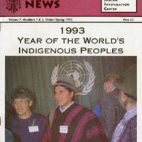 1993 Year of the World's Indigenous Peoples