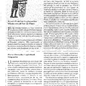 Por el Derecho Espiritual Mapuche