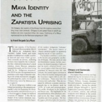 Chiapas: Maya Identity and the Zapatista Uprising