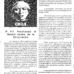 EL PTI: Practicando la Unidad dentro de la Diversidad (Chile)