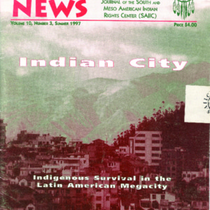 "Vol. 10, no. 3 (Summer 1997) ""Indian City"""