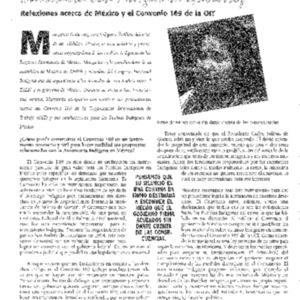 Entrevista con Margarita Gutierrez: Reflexiones acerca de Mexico y el Convenio 169 de la OIT