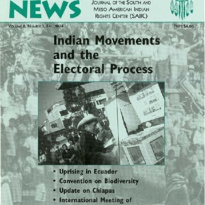 "Vol. 8, No. 3 (Fall 1994) ""Indian Movements and the Electoral Process"""