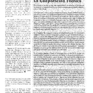 La Organizacion Internacional del Trabajo y los Pueblos Indigenas- La Cooperacion Tecnica