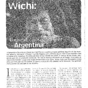 Wichi: Luchando por sobrevivir en Argentina